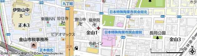 豆天狗 金山店周辺の地図