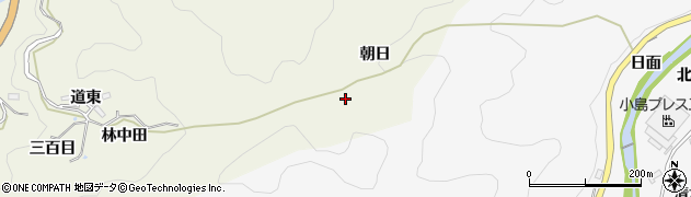 愛知県豊田市富岡町(朝日)周辺の地図