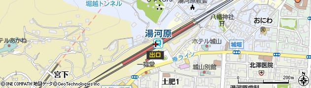 神奈川県足柄下郡湯河原町周辺の地図