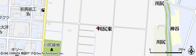 静岡県富士市川尻東周辺の地図
