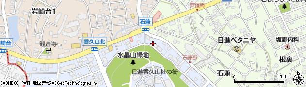 香久山周辺の地図