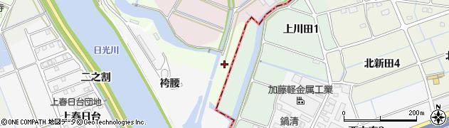 愛知県津島市中一色町(神明堂)周辺の地図