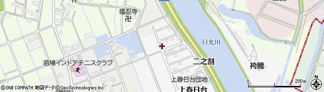 愛知県津島市鹿伏兎町(上郷)周辺の地図