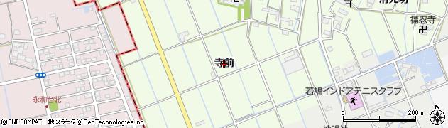 愛知県津島市中一色町(寺前)周辺の地図