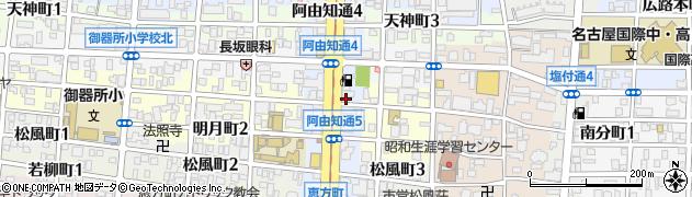 中華料理 盛華周辺の地図