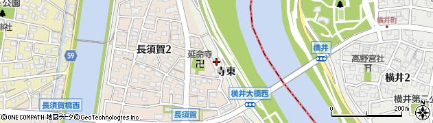 愛知県名古屋市中川区富田町大字長須賀(寺東)周辺の地図