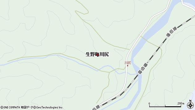 〒679-3332 兵庫県朝来市生野町川尻の地図