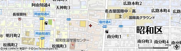 ヴァンセット周辺の地図
