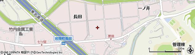 愛知県日進市岩藤町周辺の地図