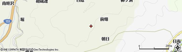 愛知県豊田市富岡町(前畑)周辺の地図