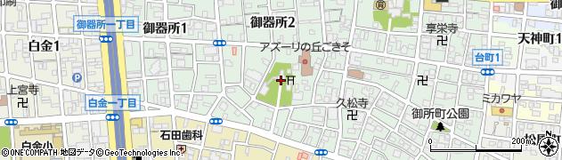 尾陽神社周辺の地図