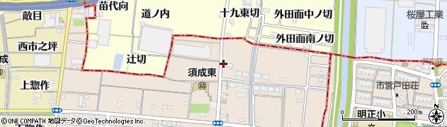 市神社周辺の地図
