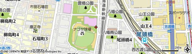 愛知県名古屋市中川区西古渡町周辺の地図
