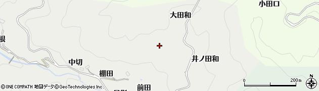 愛知県豊田市竜岡町(森前)周辺の地図