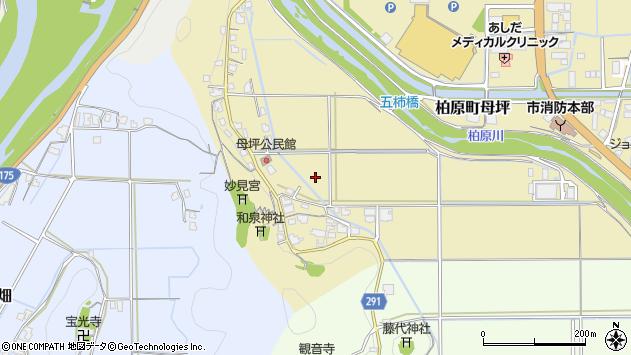 〒669-3311 兵庫県丹波市柏原町母坪の地図