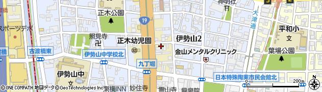 龍美周辺の地図