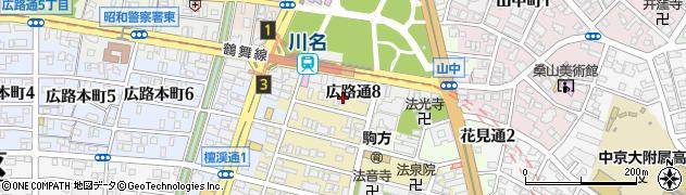 株式会社松屋コーヒー部周辺の地図