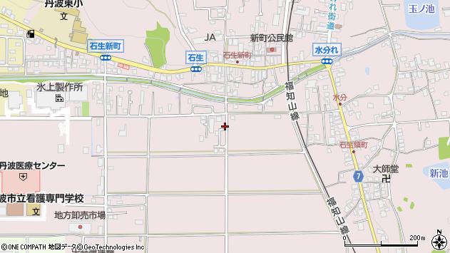 〒669-3464 兵庫県丹波市氷上町石生の地図