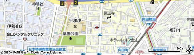 愛知県名古屋市中区平和周辺の地図