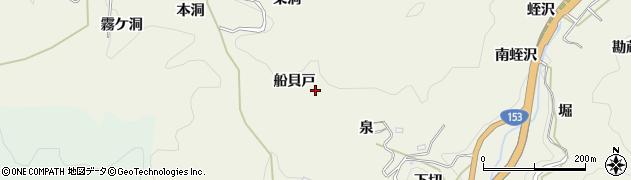 愛知県豊田市富岡町(船貝戸)周辺の地図