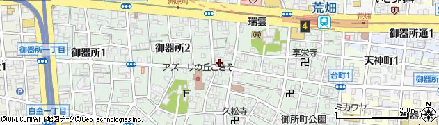 いかだ屋周辺の地図
