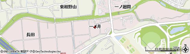 愛知県日進市岩藤町(一ノ井)周辺の地図