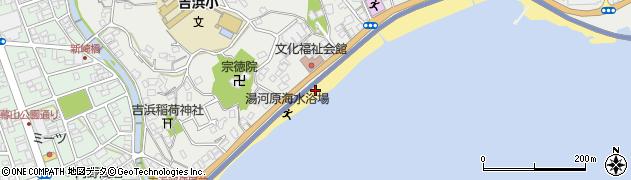 真鶴道路周辺の地図