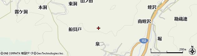愛知県豊田市富岡町(泉)周辺の地図