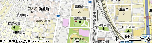 愛知県名古屋市中川区露橋周辺の地図