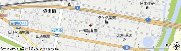 静岡県富士市依田橋周辺の地図