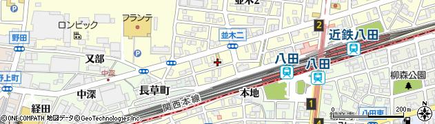 株式会社日本誉田商事周辺の地図