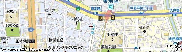 もんや周辺の地図