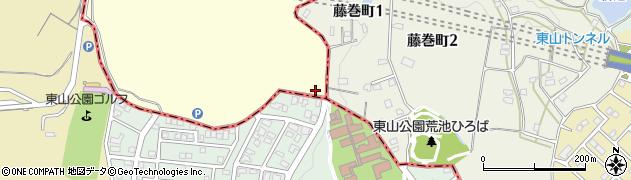 愛知県名古屋市千種区天白町大字植田(植田山)周辺の地図