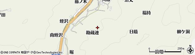 愛知県豊田市富岡町(勘蔵連)周辺の地図