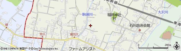 静岡県沼津市石川周辺の地図