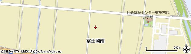 静岡県富士市富士岡南周辺の地図