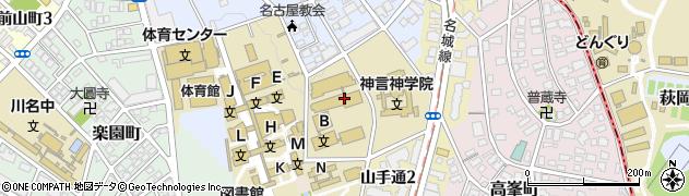 ハーベスト株式会社南山大学第一食堂周辺の地図
