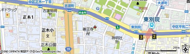 洞仙寺周辺の地図