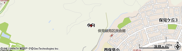 愛知県豊田市篠原町(小向)周辺の地図