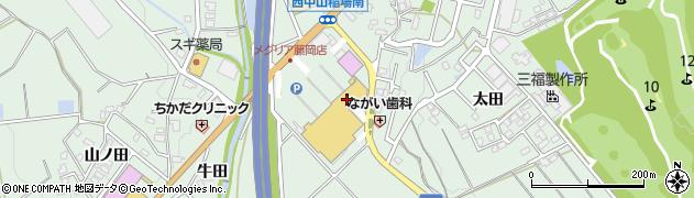 物豆奇ふじおか物豆奇周辺の地図