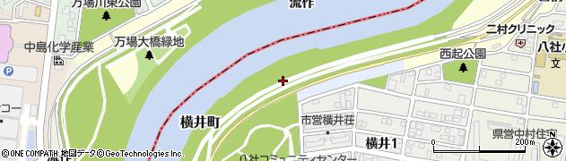 愛知県名古屋市中村区横井町周辺の地図