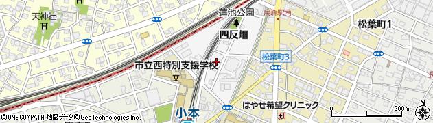 愛知県名古屋市中川区烏森町周辺の地図