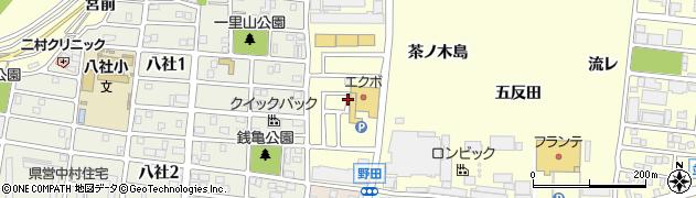 愛知県名古屋市中村区岩塚町(小池)周辺の地図