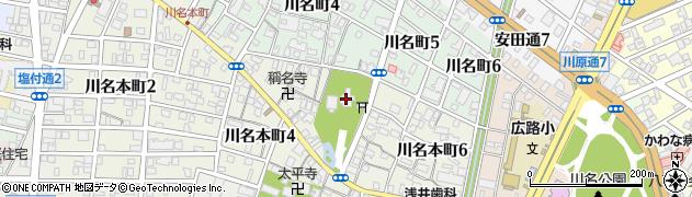 川原神社周辺の地図