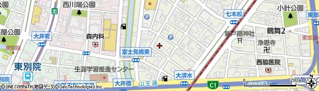 藤和シティコープ東別院周辺の地図