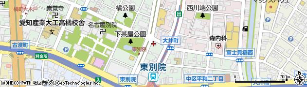柴ふく周辺の地図