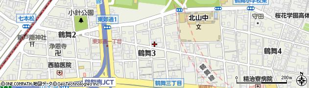 稲カツ周辺の地図