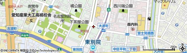 株式会社くれない周辺の地図