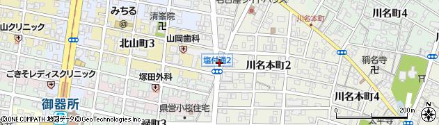 なんや周辺の地図