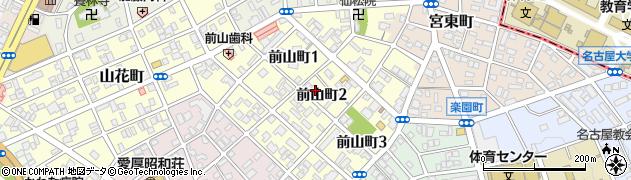 愛知県名古屋市昭和区前山町周辺の地図